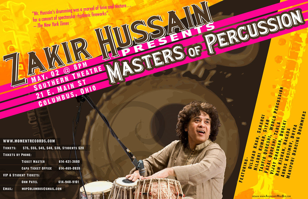 Master of Percussion Poster