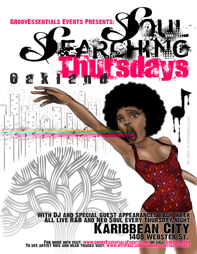 soul searching thursdays flyer