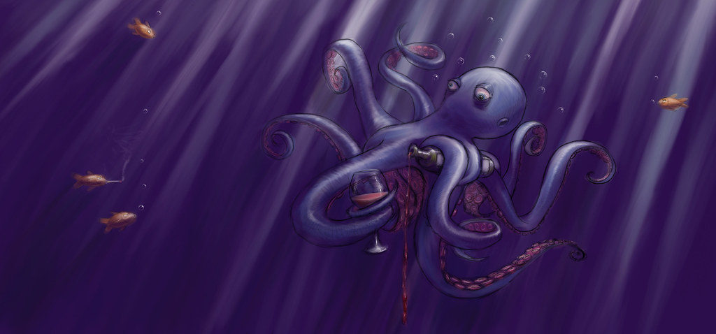 Sauced Octopus