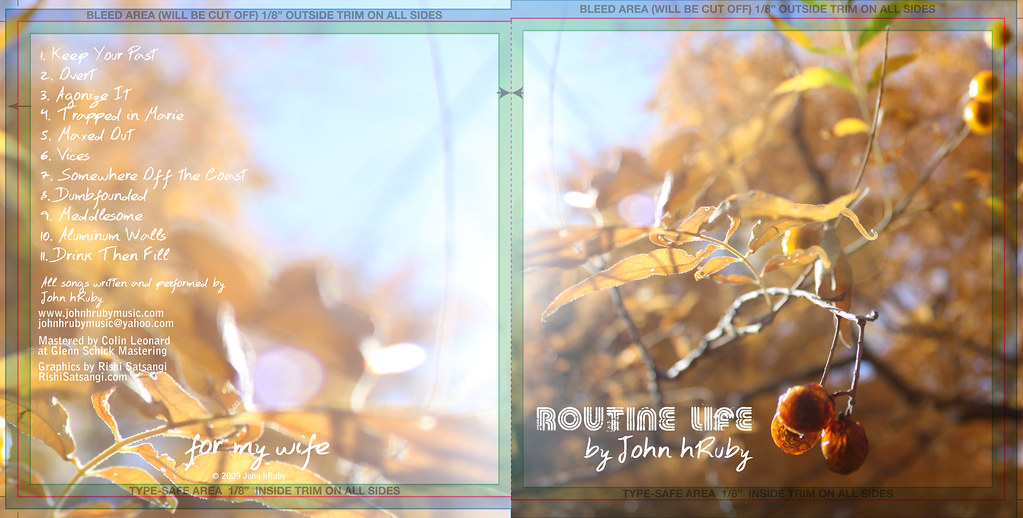 routine life cd cover